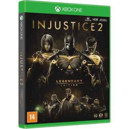 Jogo Injustice 2 - Legendary Edition - Xbox One