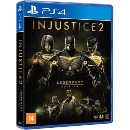 Jogo Injustice 2 - Legendary Edition - PS4