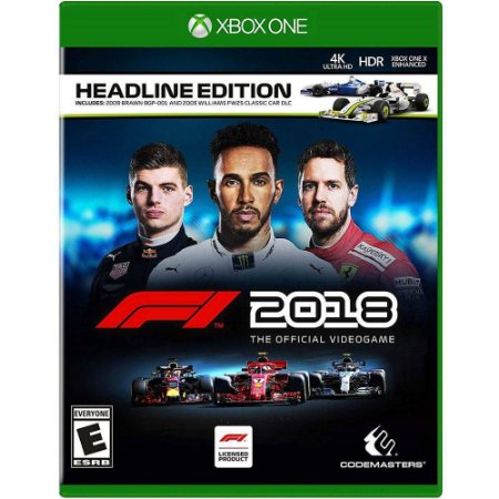 Jogo F1 Formula 1 2018 Head Line Edition - Xbox One