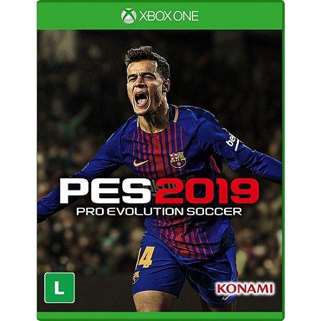 Jogo PES 19 Pro Evolution Soccer 2019 - Xbox One