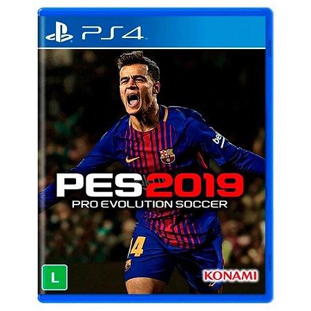 Jogo PES 19 Pro Evolution Soccer 2019 - PS4