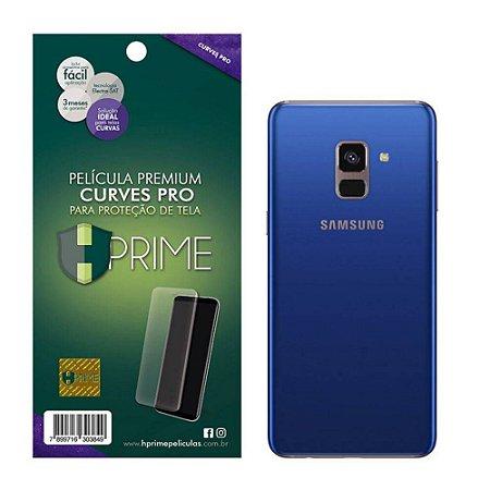 Pelicula HPrime Samsung Galaxy A8 2018 Traseira - Curves PRO