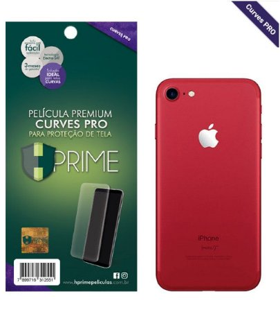 Pelicula HPrime Apple iPhone 7 Plus - VERSO - Curves PRO