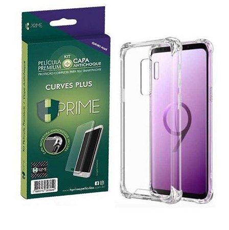 Pelicula HPrime Kit com Capa Samsung Galaxy S9 - Curves PRO