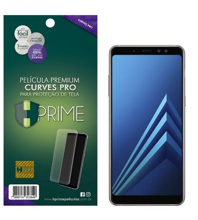 Pelicula HPrime Samsung Galaxy A8 2018 - Curves PRO