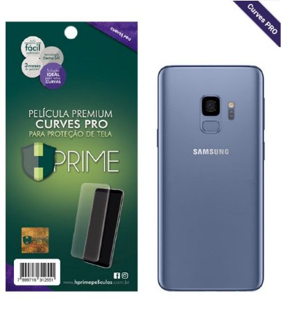 Pelicula HPrime Samsung Galaxy S9 Plus - VERSO - Curves PRO