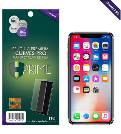 Pelicula HPrime Apple iPhone X - VERSO - Curves PRO