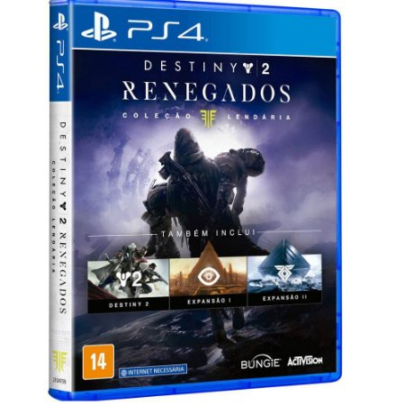 Jogo Destiny 2 Renegados Coleção Lendaria - PS4