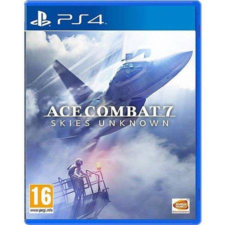 Jogo Ace Combat 7 - Ps4 Midia Fisica Lacrado Novo