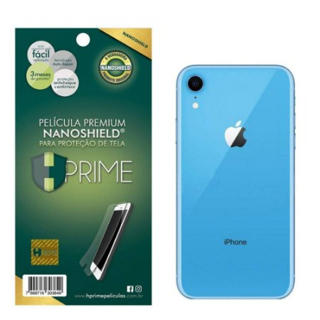 Pelicula HPrime Apple iPhone XR - Traseira (VERSO) - NanoShield