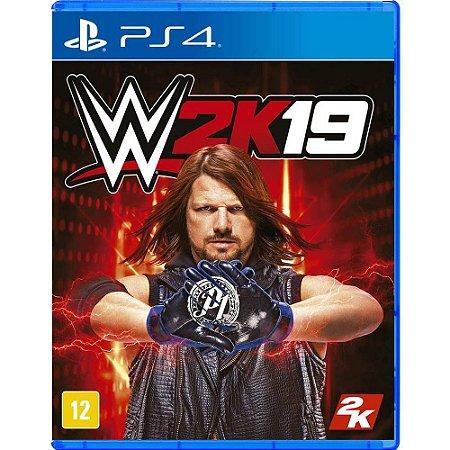 Jogo Wwe 2k19 - Playstation 4