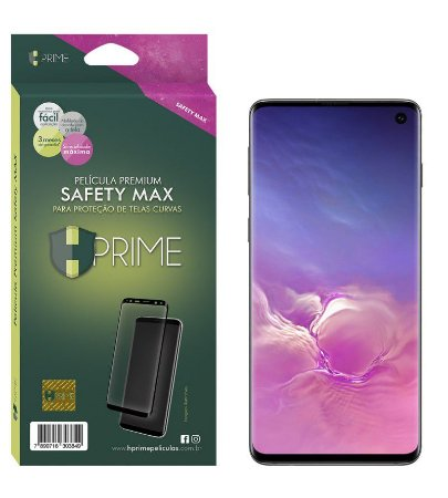 Pelicula Samsung Galaxy S10 Plus HPrime - Safety MAX