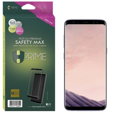 Pelicula HPrime Samsung Galaxy S8 Plus - Safety MAX