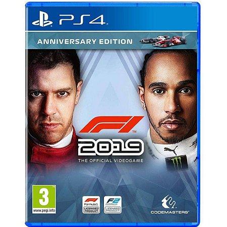 Jogo F1 2019 Anniversary Edition - Ps4