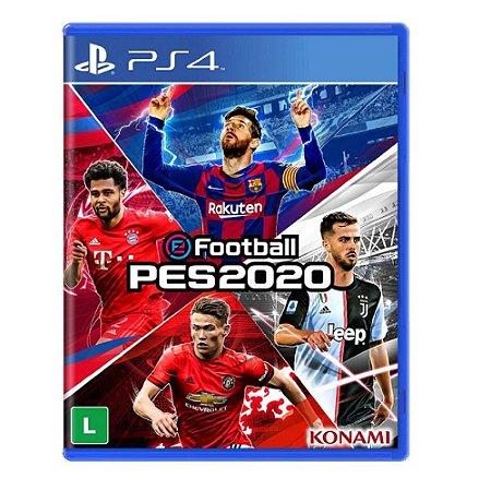 Jogo eFootball Pro Evolution Soccer 2020 - PES 2020 PS4