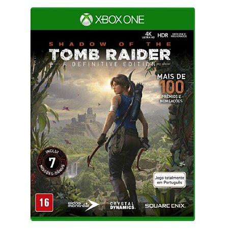 Jogo Shadow of Tomb Raider  Definitive Edition Xbox One