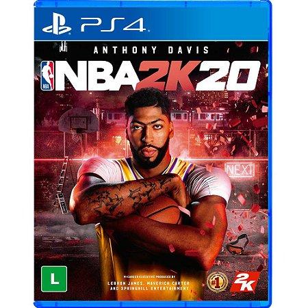 Jogo NBA 2k20 - PS4 Novo Lacrado Midia Fisica