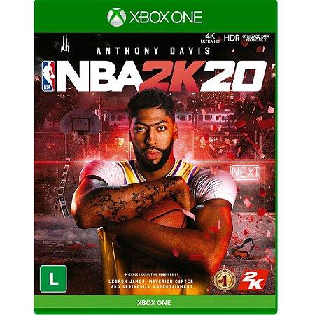 Jogo Nba 2k20 - Xbox One Lacrado Midia Fisica