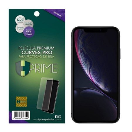 Pelicula HPrime Apple iPhone XR - Curves PRO