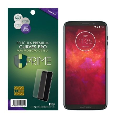 Pelicula HPrime Motorola Moto Z3 Play - Curves PRO