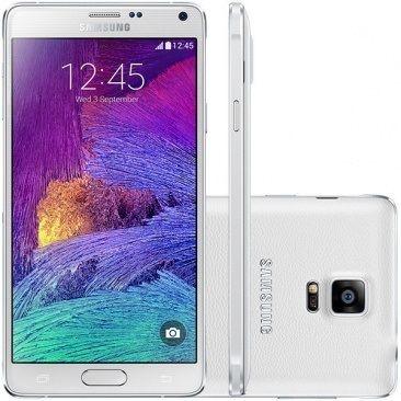 Smartphone Samsung Galaxy Note 4 32GB N910C 4G Octacore 5.7 Branco