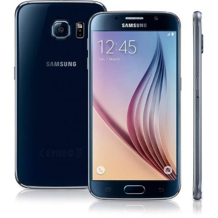 """Smartphone Samsung Galaxy S6 SM-G920I Preto com Tela 5.1"""", Android 5.0, 4G, Câmera 16MP e Processador Octa-Core"""