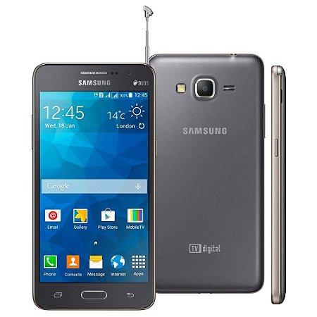 Smartphone Samsung Galaxy Gran Prime Duos Tv G530 Desbloqueado Cinza