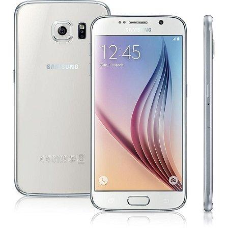 """Smartphone Samsung Galaxy S6 SM-G920I Branco com Tela 5.1"""", Android 5.0, 4G, Câmera 16MP e Processador Octa-Core"""