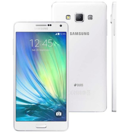 "Smartphone Samsung Galaxy A7 4G Duos SM-A700FD Branco Dual Chip Tela 5.5"", 4G"