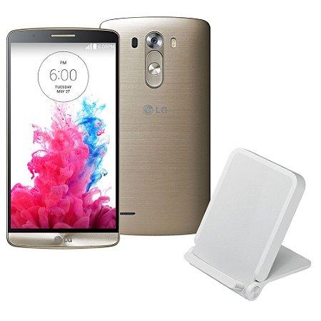 smartphone LG G3 16GB 4G D855 Desbloqueado Quad-Core 2.5 GHz Dourado