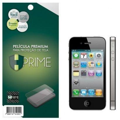 Kit Película Protetora Iphone 4/4S Hprime Frente e Verso