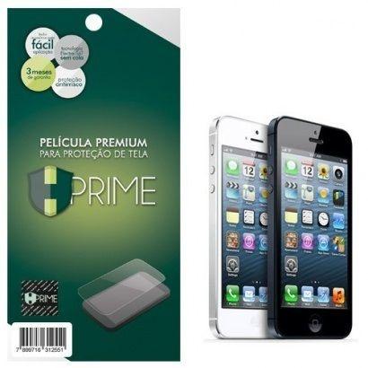 Kit Película Protetora Iphone 5-5S Hprime Frente e Verso Transparente
