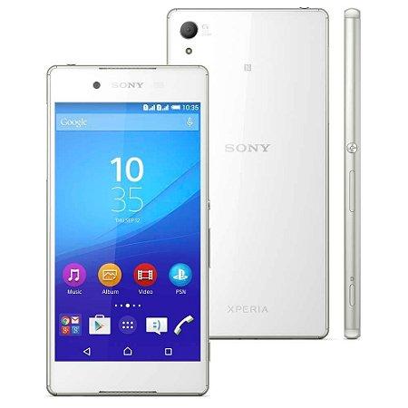 """Smartphone Sony Xperia Z3+ Branco com Tela 5.2"""", 4G, Câmera 20.7MP, Android 5.0 e Processador Qualcomm Octa-core de 64 b"""