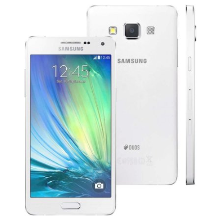 Smartphone Samsung Galaxy A5 A500M/DS Dual Chip 4G Branco, Quad Core 1.2GHz, HD,  16GB, Cam.13+5MP