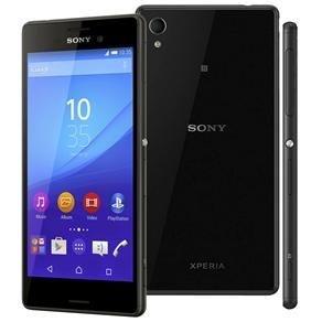 """Smartphone Sony Xperia M4 Aqua Dual Preto à Prova D'água 16GB, Tela 5"""", Dual Chip, 4G, Câmera 13MP, Android 5.0 Octa-Core"""