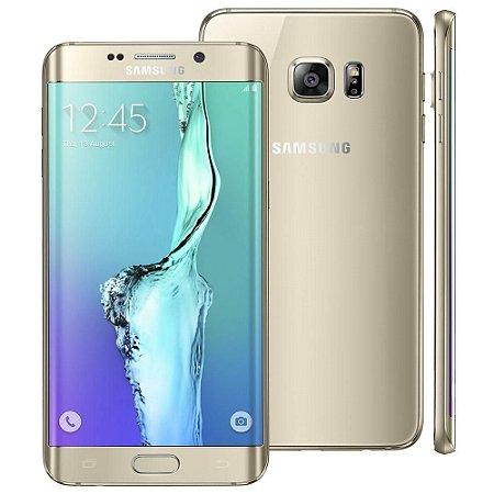 """Smartphone Samsung Galaxy S6 Edge+ SM-G928G Dourado com 32GB, Tela de 5.7"""", Android 5.1, 4G, Câmera 16 MP e Processador Octa Core"""