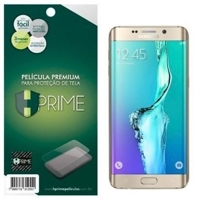 Kit Película Hprime Samsung Galaxy S6 Edge Plus G928 Frente Verso