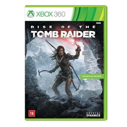 Jogo Rise of the Tomb Raider - Xbox 360.