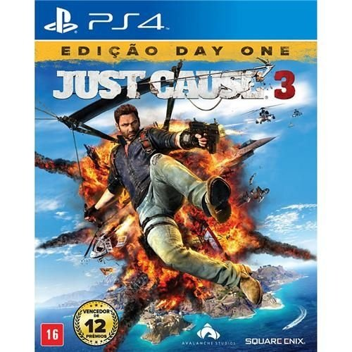 Jogo Just Cause 3 - Edição Day One - PS4.