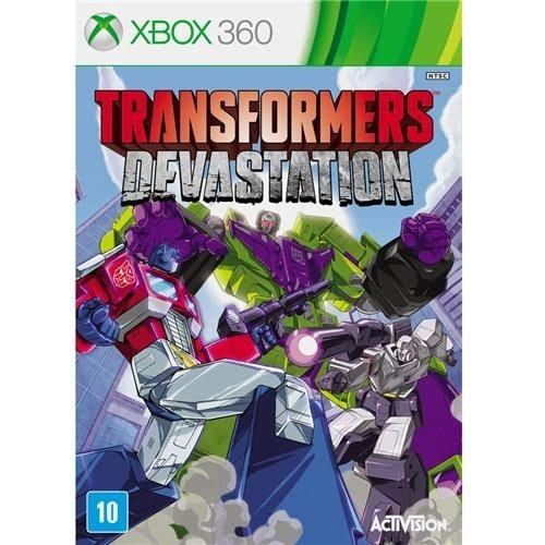 JOGO TRANSFORMERS DEVASTATION - Xbox 360