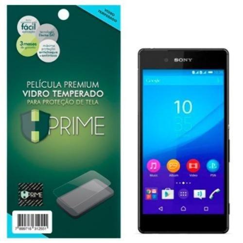 Película Premium de Vidro Temperado HPrime para Sony Xperia Z3+/Z4