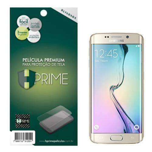 Kit Película Protetora de Tela HPrime Premium para Samsung Galaxy S6 Edge Frente e Verso Invisível