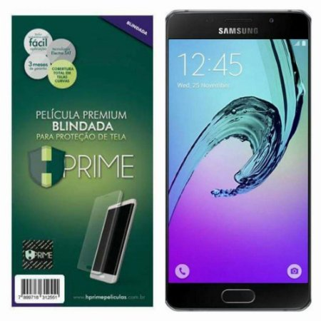Pelicula HPrime Samsung Galaxy A5 2016 - Curves (Cobre A Parte Curva Da Tela).