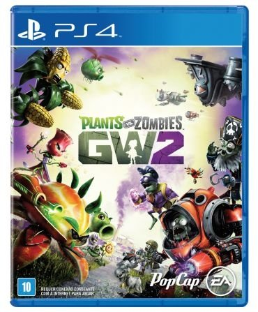 Jogo Plants vs Zombies Garden Warfare 2 - PS4
