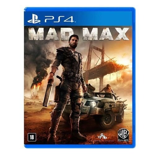 Jogo Warner Mad Max PS4 Blu-ray