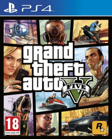 Jogo Grand Theft Auto GTA V  (GTA 5) - PS4 Midia Fisica Lacrado
