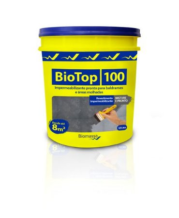 BioTop 100 Impermeabilizante para Baldrames  (3,6 litros)