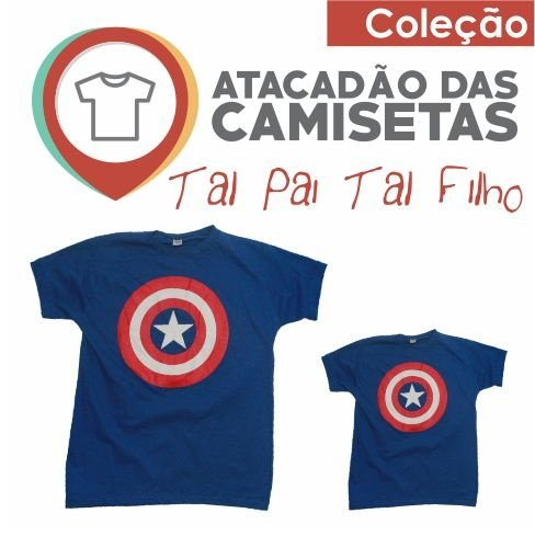 57cb1260d03f4c Tal Pai Tal Filho - Capitão America