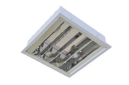 Luminária Acrux de Embutir E27 BLAN