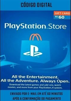 PLAYSTATION NETWORK R$60 REAIS - BRASIL